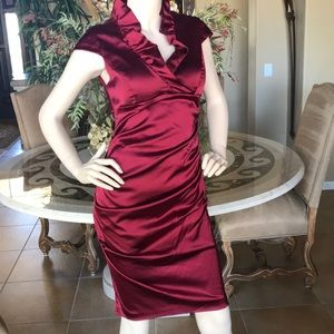 XSCAPE Red Holiday Dress